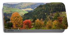 Autumnal Colours In Austria Portable Battery Charger