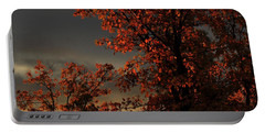 Autumn's First Light Portable Battery Charger