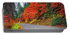 Portable Battery Charger featuring the photograph Autumn's Glory by Lynn Bauer
