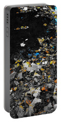 Autumn's Last Color Portable Battery Charger by Photographic Arts And Design Studio