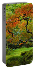 Autumn's Paintbrush Portable Battery Charger