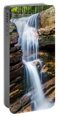 Portable Battery Charger featuring the photograph Avalanche Falls2 by Mike Ste Marie