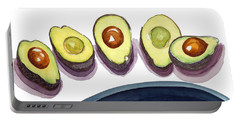 Avocados Portable Battery Charger