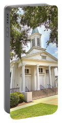 Portable Battery Charger featuring the photograph Awaiting The Congregation by Gordon Elwell
