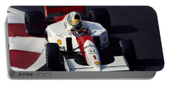Ayrton Senna. 1992 French Grand Prix Portable Battery Charger