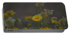 Portable Battery Charger featuring the photograph Az Flowers by Rod Wiens