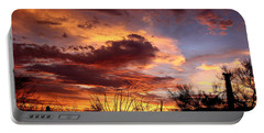 Az Monsoon Sunset Portable Battery Charger