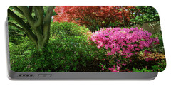 Azaleas In Spring In National Portable Battery Charger