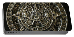 Aztec Portable Battery Charger by Julio Lopez