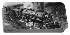 B & O Railroad Coal Train Portable Battery Charger