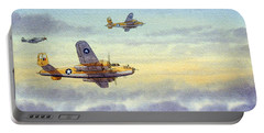 B-25 Mitchell Portable Battery Charger by Bill Holkham
