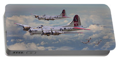 B17- 381st Bomb Group En-route Portable Battery Charger
