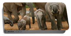 Baby African Elephants Portable Battery Charger