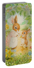 Baby Bunny Portable Battery Charger
