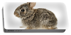 Baby Cottontail Bunny Rabbit Portable Battery Charger