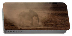 Portable Battery Charger featuring the photograph Baby Elephant  by Amanda Stadther