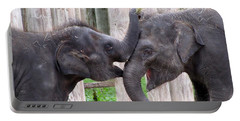 Baby Elephants - Bowie And Belle Portable Battery Charger