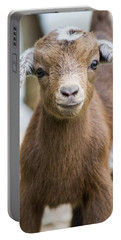 Baby Goat Portable Battery Charger by Shelby  Young