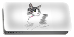 Baby Kitten Portable Battery Charger