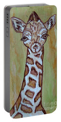 Baby Longneck Giraffe Portable Battery Charger