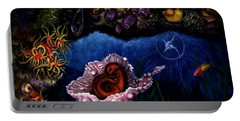 Portable Battery Charger featuring the painting Baby Octopus  by Lynn Buettner