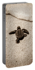 Baby Sea Turtle Portable Battery Charger by Sebastian Musial