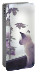 Baby Siamese Kitten Portable Battery Charger