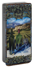Bacchus Vineyard Portable Battery Charger