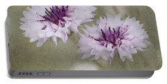 Bachelor Buttons - Flowers Portable Battery Charger