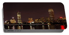 Portable Battery Charger featuring the photograph Back Bay At Night by Mike Ste Marie