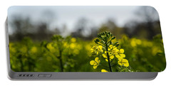 Backlit Canola Flower Portable Battery Charger