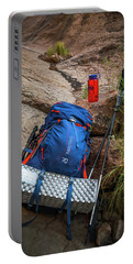 Backpack, Water Bottle And Hiking Pole Portable Battery Charger
