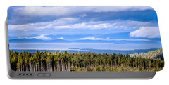 Johnstone Strait High Elevation View Portable Battery Charger