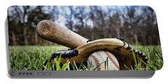 Backyard Baseball Memories Portable Battery Charger