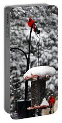 Backyard Winter Wonderland 2  Portable Battery Charger