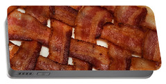 Bacon Weave Portable Battery Charger by Andee Design