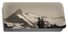 Fog In Mountains Portable Battery Charger