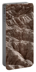 Badlands Light Bw Portable Battery Charger by Steve Gadomski