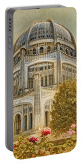 Baha'i  Temple In Wilmette Portable Battery Charger