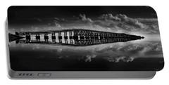Bahia Honda Bridge Reflection Portable Battery Charger by Kevin Cable