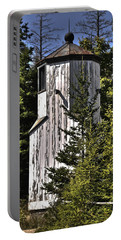 Portable Battery Charger featuring the photograph Baileys Harbor Range Lighthouse by Deborah Klubertanz