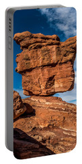 Balanced Rock Garden Of The Gods Portable Battery Charger by Paul Freidlund