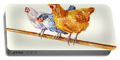 Balancing Chickens Portable Battery Charger