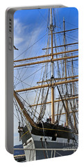 Portable Battery Charger featuring the photograph Balclutha by Kate Brown