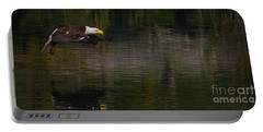 Portable Battery Charger featuring the photograph Bald Eagle #1307 by J L Woody Wooden