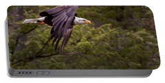 Portable Battery Charger featuring the photograph Bald Eagle   #6865 by J L Woody Wooden