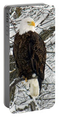 Portable Battery Charger featuring the photograph Bald Eagle by Penny Meyers