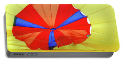 Portable Battery Charger featuring the photograph Balloon Fantasy   1 by Allen Beatty