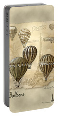 Balloons With Sepia Portable Battery Charger
