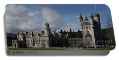 Balmoral Castle In A Closeup Panorama Portable Battery Charger